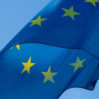 Canva - European Blue Flag